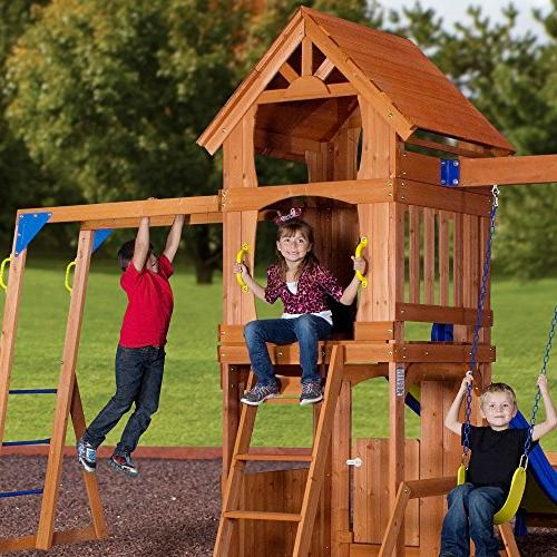 Backyard Discovery Parkway Cedar Set