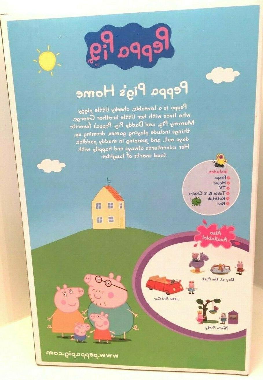 PEPPA PIG HOME SET INCLUDES 8 PIECES!
