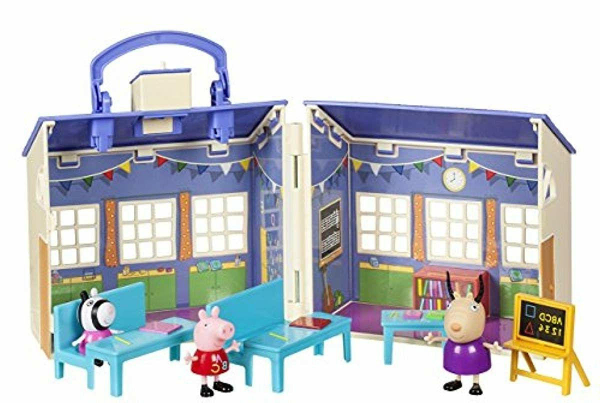 peppa pig school playset for kids toddlers