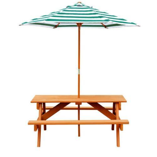 picnic table umbrella