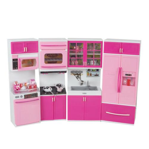 pink plastic Toy Kids Set Toddler Playset New