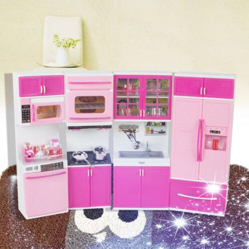 pink Kids Pretend Set Toddler Playset New