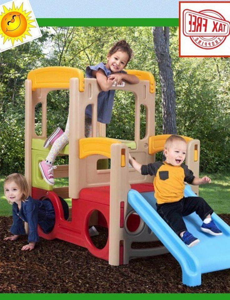 Playset Slide Climber Activity Sport Center Swing Gym Play S