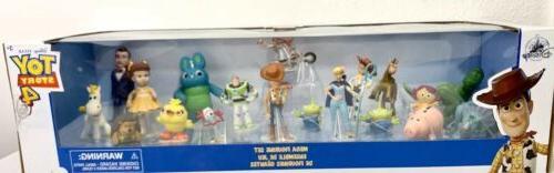 Disney Toy 4 Mega Figurine Play Set 19 Piece