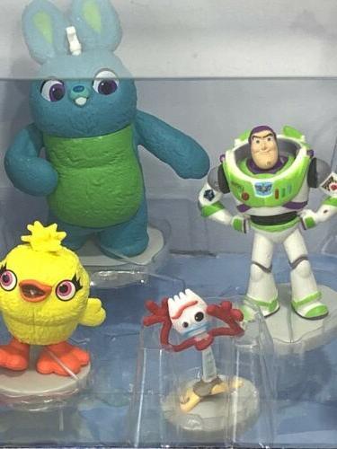 Disney Pixar 4 Figurine Set Piece Buzz Bo
