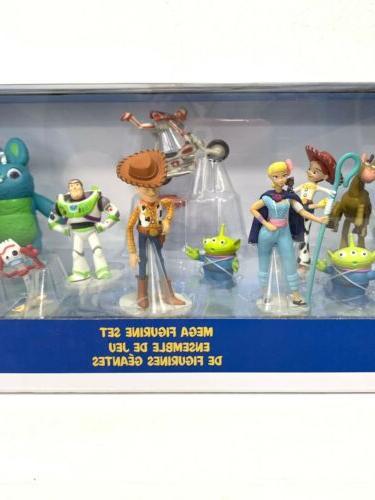 Disney 4 Mega Figurine Play Set Buzz Rex NIB