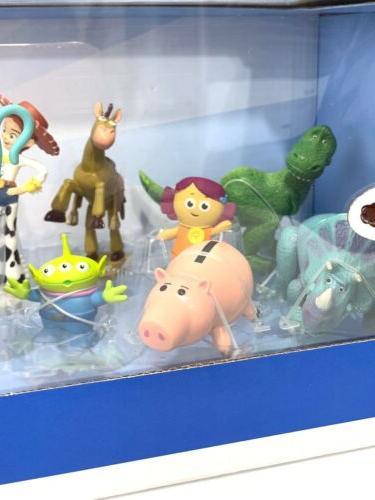 Disney Story 4 Play Set Buzz Bo Rex