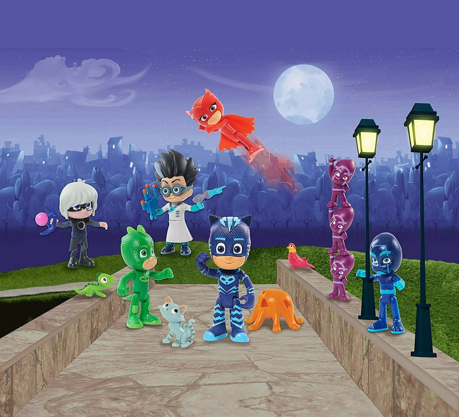 Just Play PJ Deluxe Figure Set NEW 2020