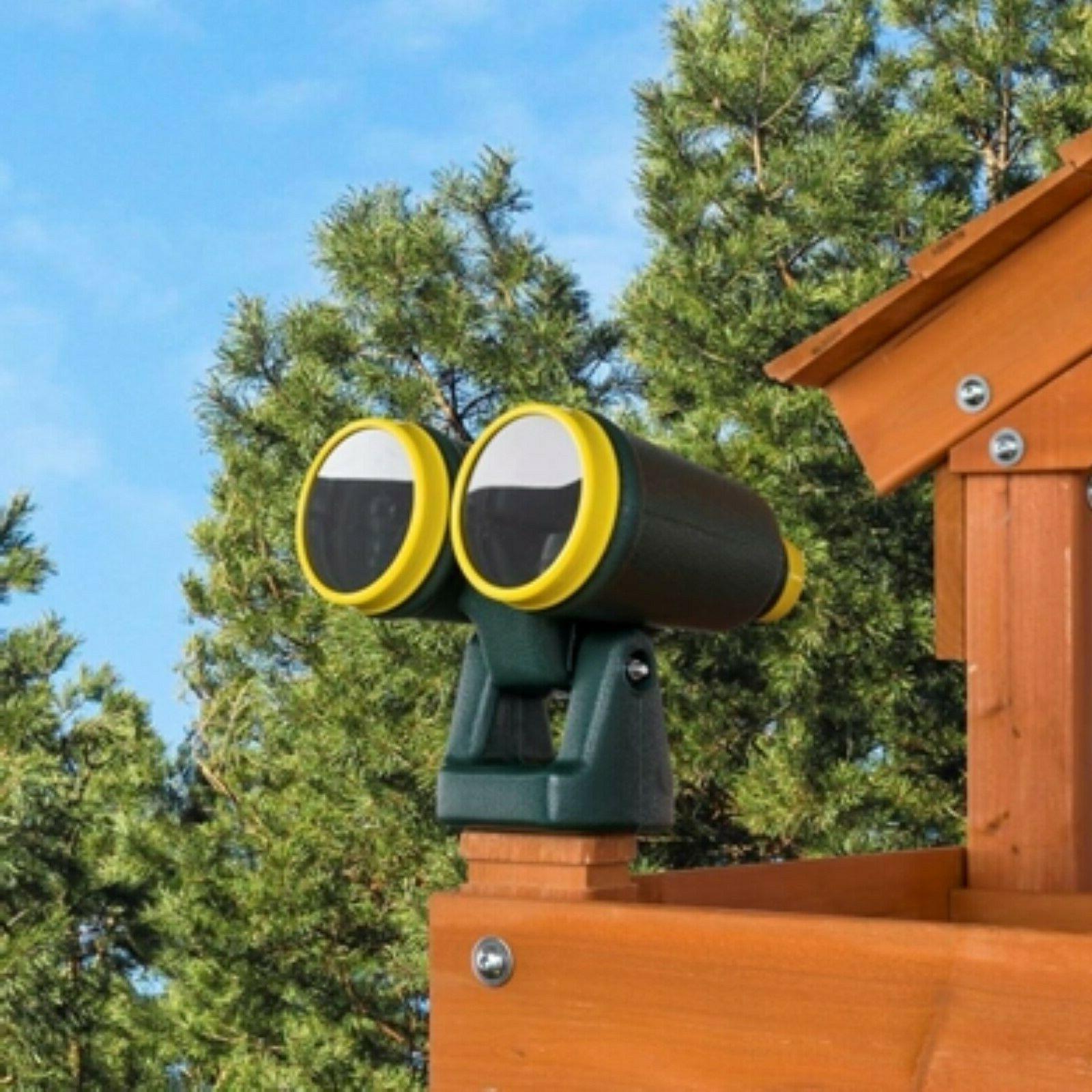 Creative Cedar Designs Plastic Playset Binoculars Swing Set