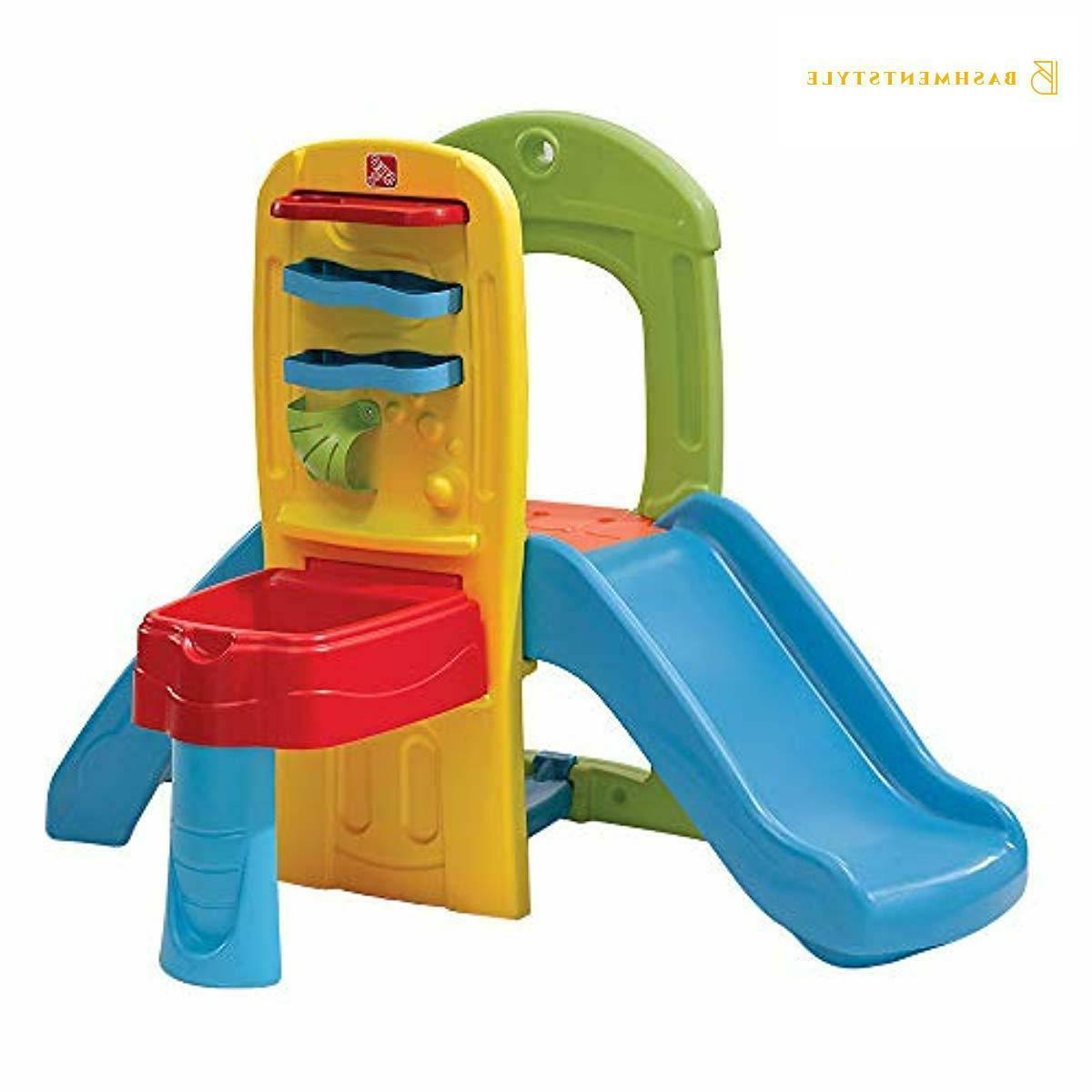 play ball fun climber with slide