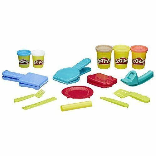 Play Doh Breakfast Toy Children Pretend Kitchen Fun Molds