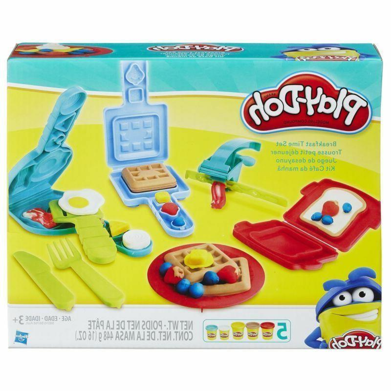 play doh breakfast time toy