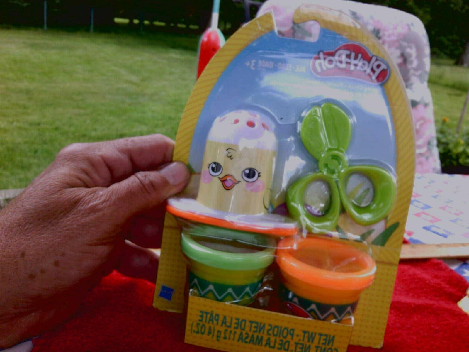 play doh easter playset spring chick w