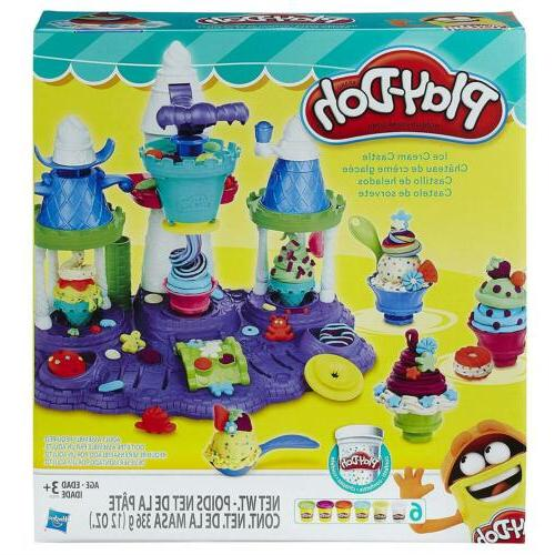 play doh ice cream castle modeling compound