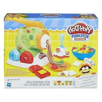 Hasbro Play-Doh Kitchen Creations Noodle Makin' Mania Art Cr