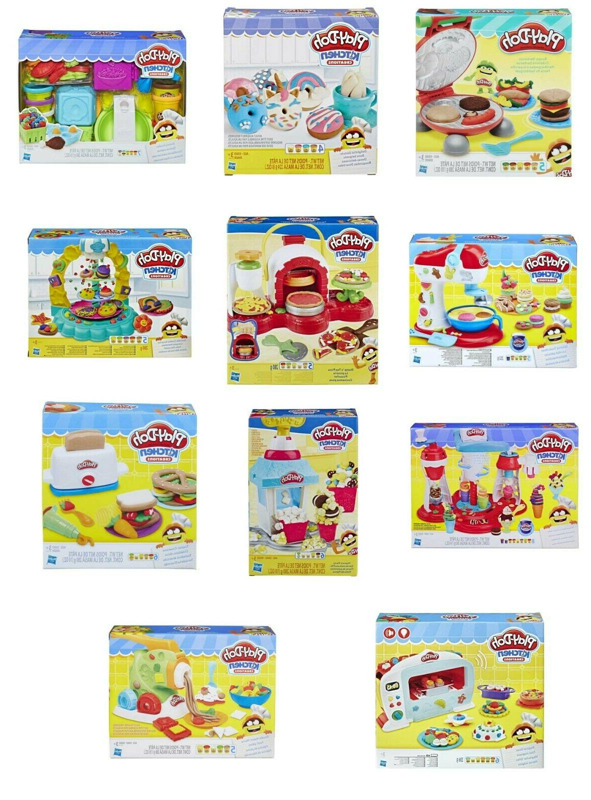 play doh kitchen creations play set kids