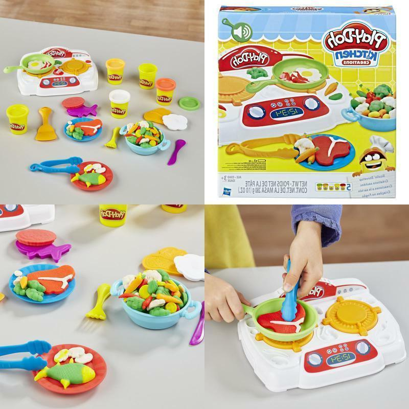 play doh kitchen creations sizzlin