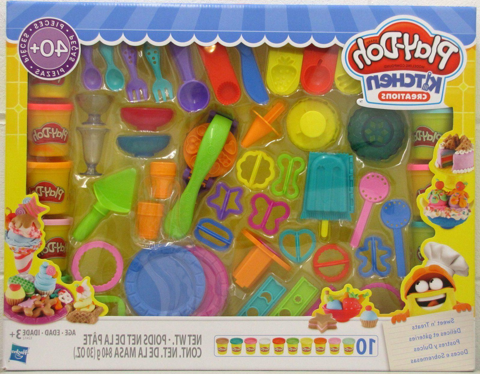 play doh kitchen creations sweets n treats