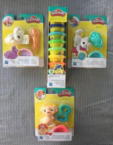 play doh mini sets new in package