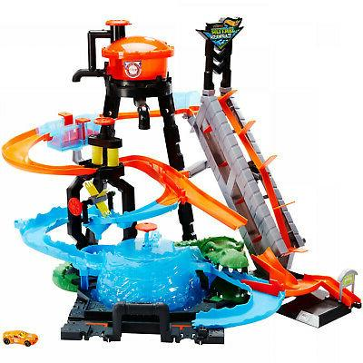 Hot Wheels Ultimate Gator Wash With Shifters Kid Boy