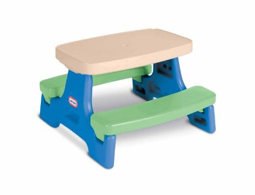 Kids Play Table Little Tikes Junior New Green Outdoor And Se