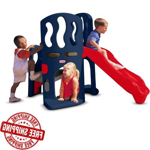 playground hide slide climber jungle