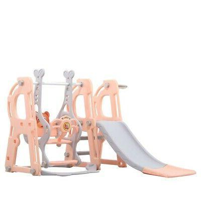 Playground Play Slide Kids Swing set