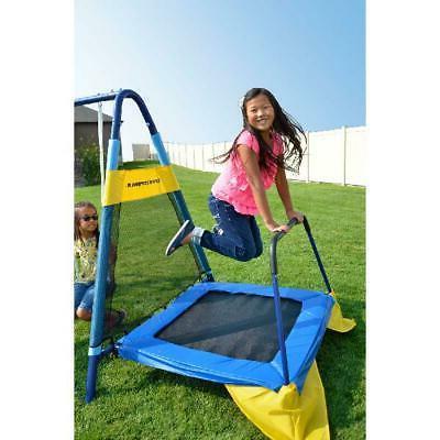 Playground Metal Set Slide Kids Playset New