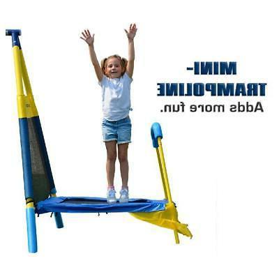 Playground Trampoline Set Outdoor Kids Playset