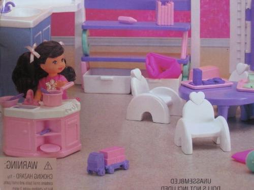 Barbie KELLY Playset w Unit,