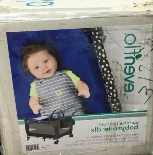 portable babysuite deluxe playard