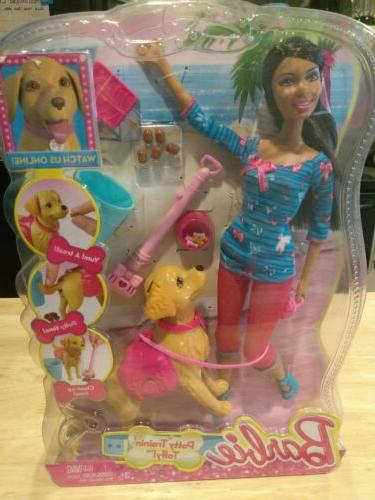 Barbie Training Taffy Fashion rare BOX Nikki