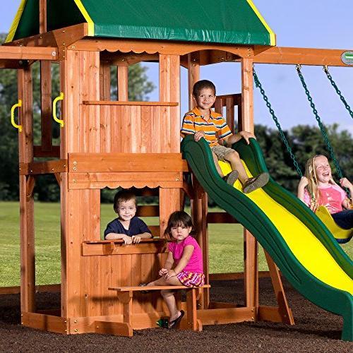 Backyard Discovery All Cedar Swing