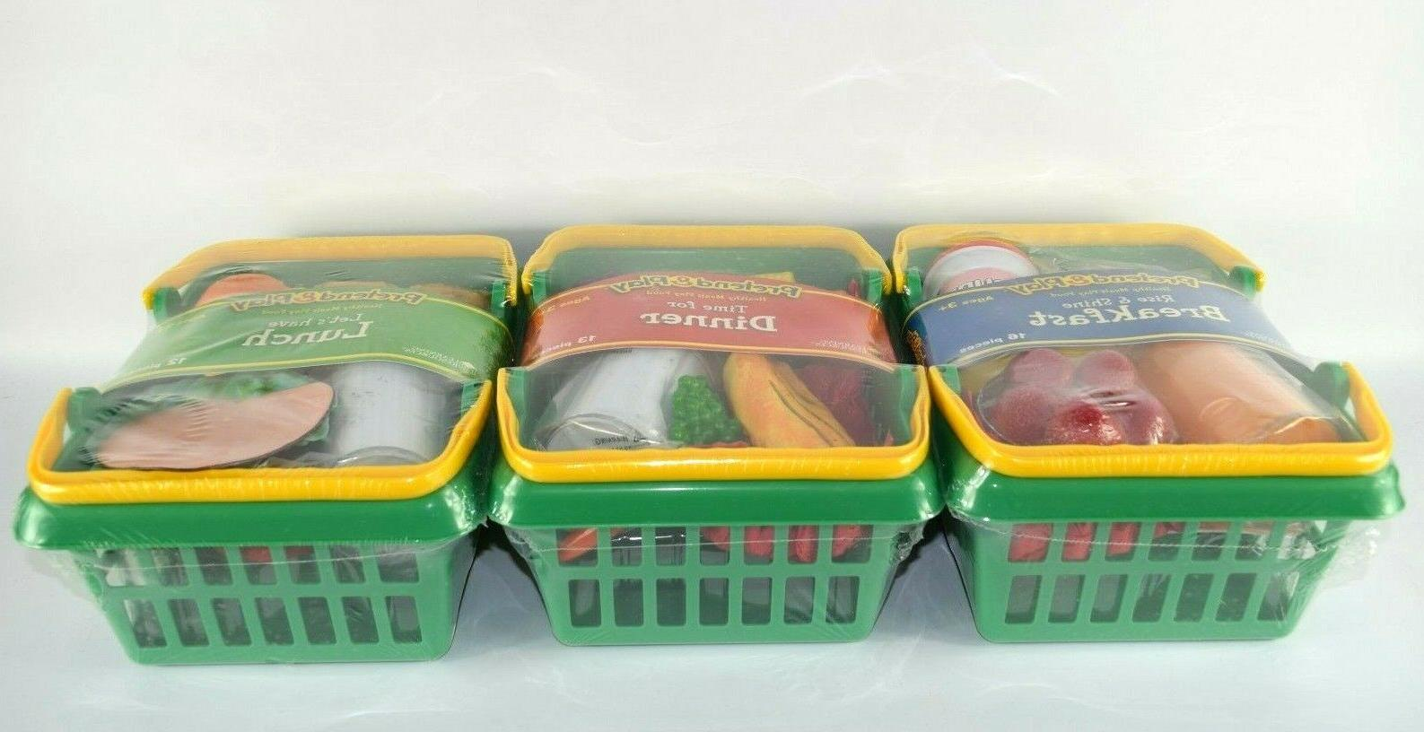 Learning Pretend Play Foods Play Set of Factory Sealed