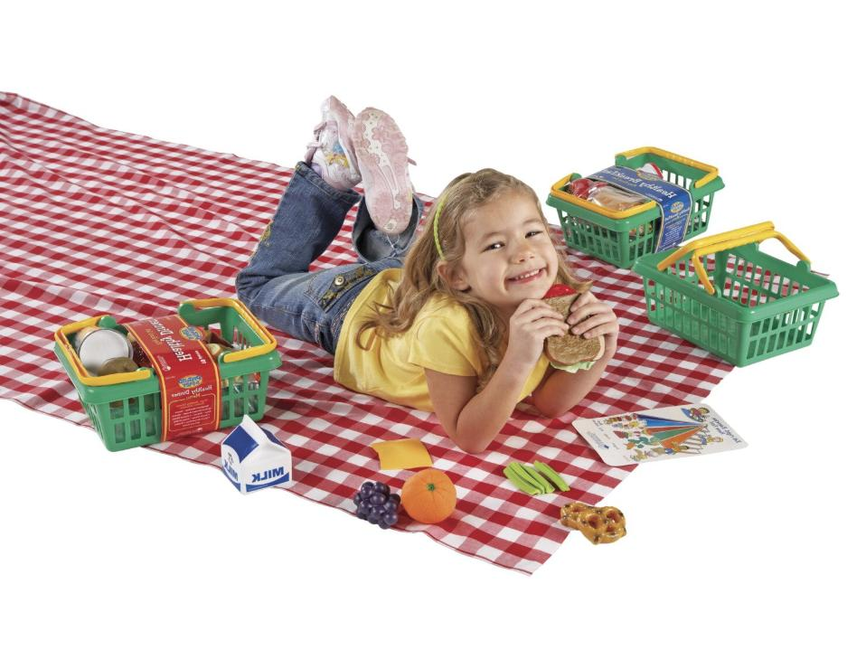 Learning Pretend and Play Healthy Foods Set of 52 Sealed