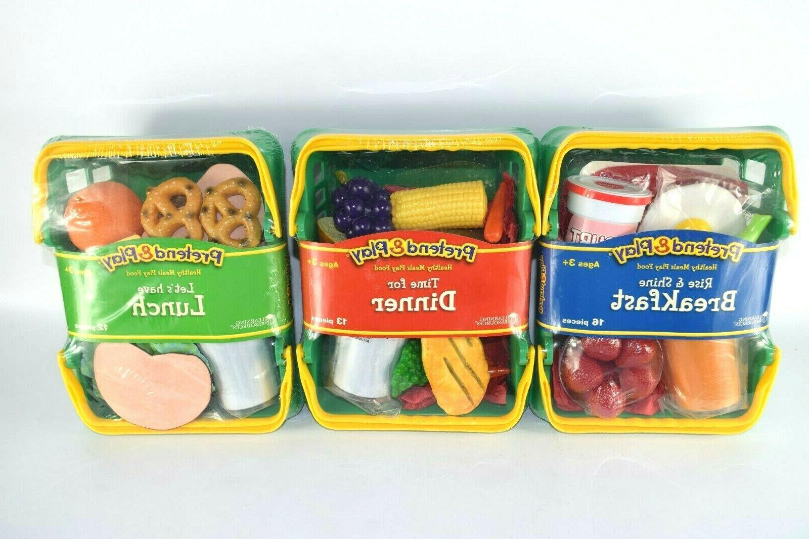 Learning Pretend Play Healthy Set of Factory Sealed