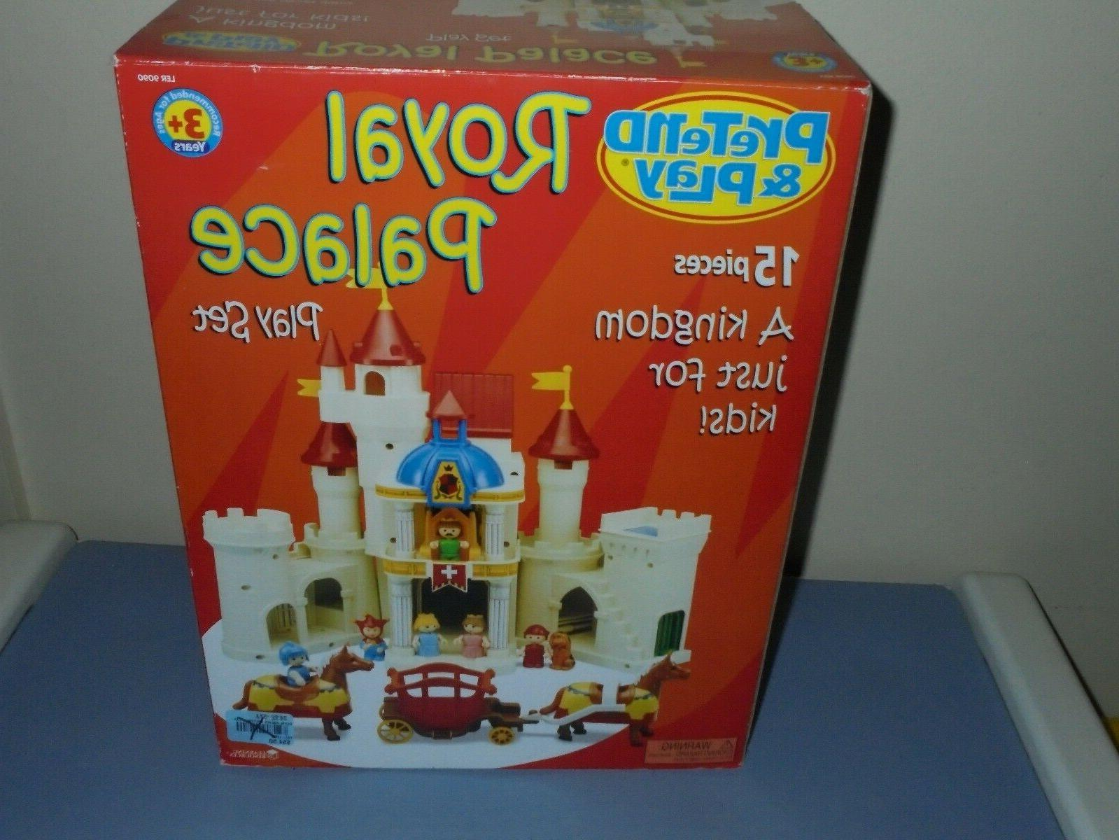 Learning Pretend Play Royal Palace Set NEW