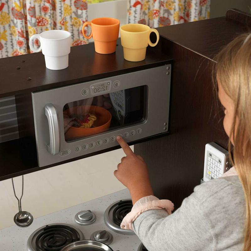 Pretend Kitchen Play 30 Oven Refrigerator Kids Toy