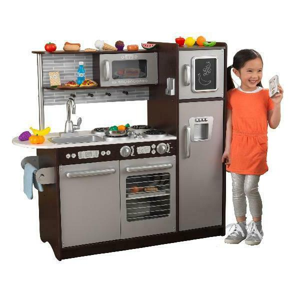 Pretend Play Set 30 Piece Refrigerator Kids Learning