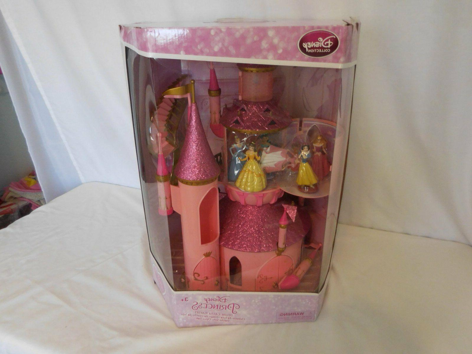 princess deluxe castle playset cinderella belle ariel