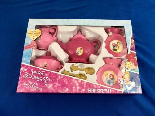 princess girls tea set 11 piece set