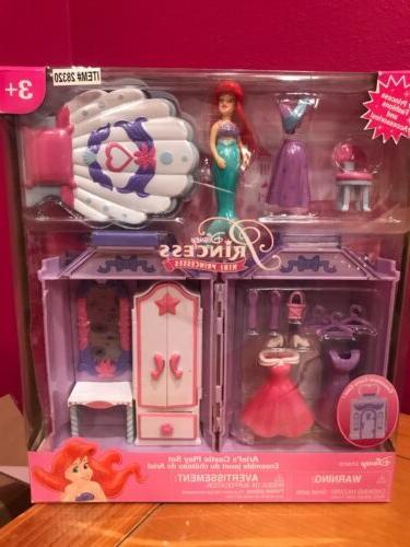 princess little mermaid ariel mini castle play