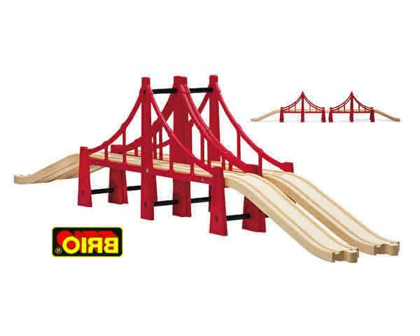 railway 33683 double suspension bridge new in