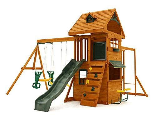 ridgeview clubhouse deluxe play set