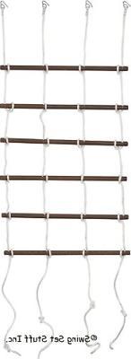 "Swing Set Stuff 36"" Rope Ladder with SSS Logo Sticker"