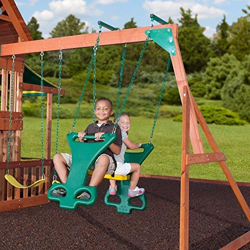 Backyard Discovery Cedar Wood Playset Set