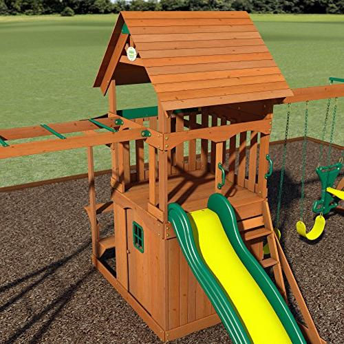 Backyard All Cedar Playset Set