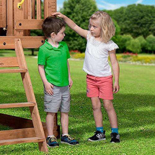 Backyard Discovery Heights All Playhouse