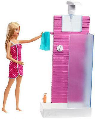 Barbie Shower Playset Kid
