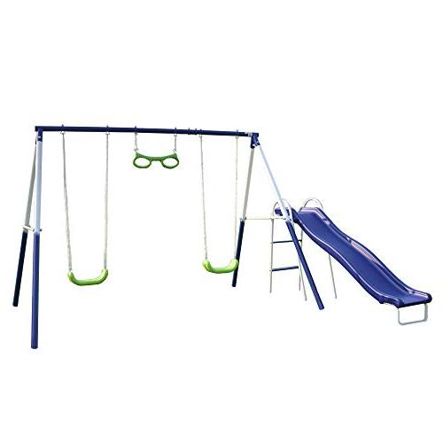 sierra vista metal swing slide